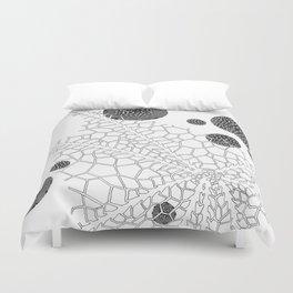 Skeletal Coral Duvet Cover