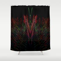 3d Shower Curtains featuring 3D by Nasayousef