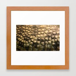 Croc Abstract I Framed Art Print