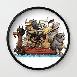 Bring The Wild Rumpus Back! Wall Clock