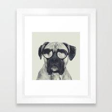 hawt dawg Framed Art Print