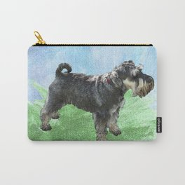 Henry - the Schnauzer dog Carry-All Pouch