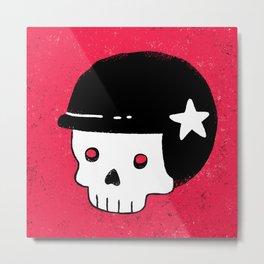 skull dude Metal Print