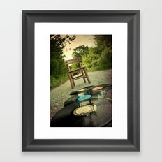 Follow The Melody Framed Art Print