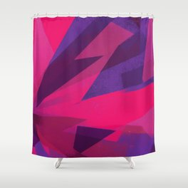 fractionp Shower Curtain