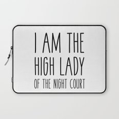high lady of the night court (acomaf) Laptop Sleeve