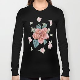 Hibiscus Crystals Long Sleeve T-shirt