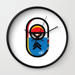..Medications (gundamn).. Wall Clock
