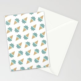 Chocomint Pettern Stationery Cards