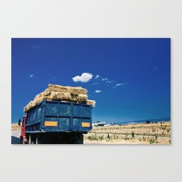 Truck of Romania Canvas Print