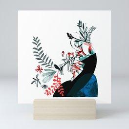 natural jazz Mini Art Print