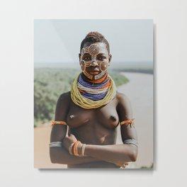 Karo Tribeswoman II Metal Print