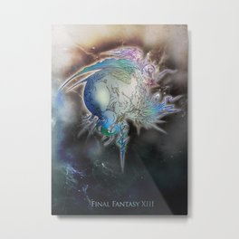 Cocoon FFXIII Metal Print