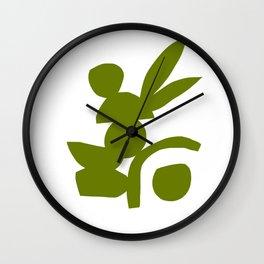GREEN JARDIN Wall Clock