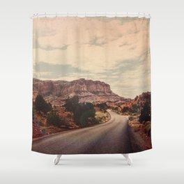 Desert Solitude Shower Curtain