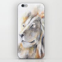 the lion king iPhone & iPod Skins featuring Lion King by pablolabel
