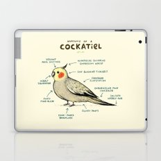Anatomy of a Cockatiel Laptop & iPad Skin
