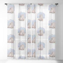 Frozen Boi Sheer Curtain