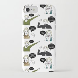 A Medley Print iPhone Case