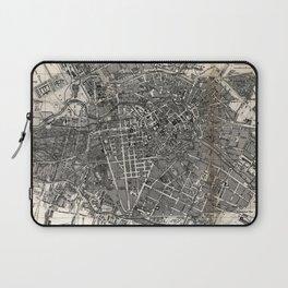 Vintage Map of Berlin Germany (1870) Laptop Sleeve