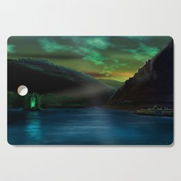 Romantic Rhine Cutting Board