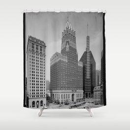 Light Street, Baltimore Shower Curtain