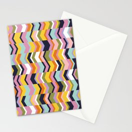Your Connection Was Interrupted Geometric Tribal Chevron Stationery Cards