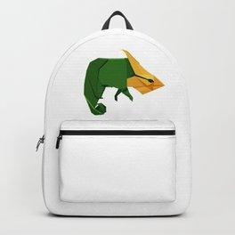 Origami Chameleon Backpack