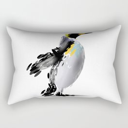 Abstract illustration of a penguin Rectangular Pillow