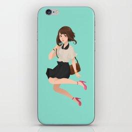 G R A V I T Y  G I R L iPhone Skin
