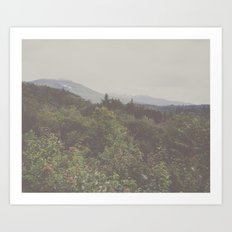 the great profound wanderlust Art Print