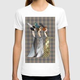 Art Deco Trio T-shirt