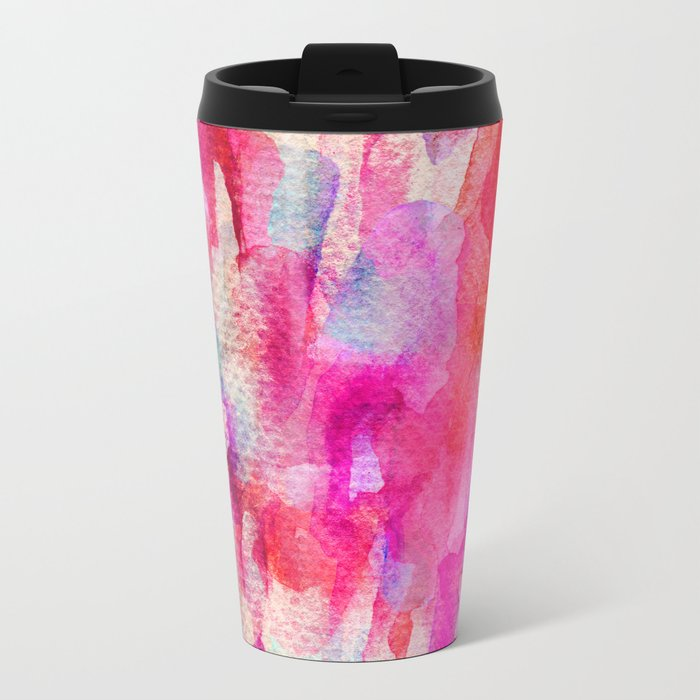 Summer Vibrance Metal Travel Mug