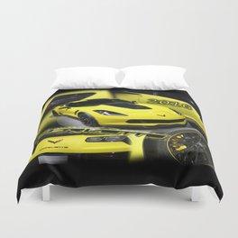2016 Corvette Duvet Cover
