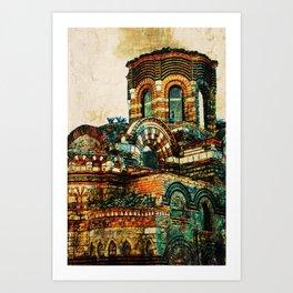 BULGARIA NESEBAR Art Print