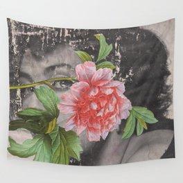 Flower Arrangement Wall Tapestry