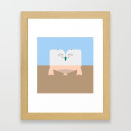 Pantless Project / MARCO-POLO Framed Art Print