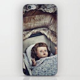 Haunted she is iPhone Skin