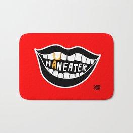 Maneater! - femme fatale crazy legs Bath Mat