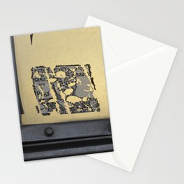 Downtown Parking Tower Posse Stationery Cards