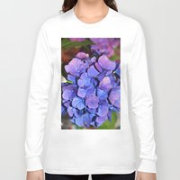 hydrangea Long Sleeve T-shirts featuring Hydrangea by J Butterfield Photography