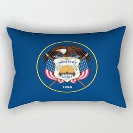 Utah State Flag - Authentic version Rectangular Pillow