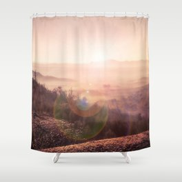 Outback Sunrise (3:2 standard view) Shower Curtain