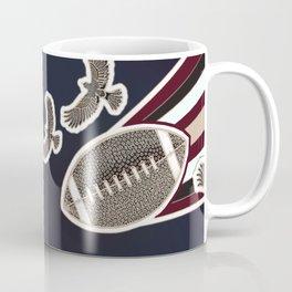American football, gridiron ball Coffee Mug