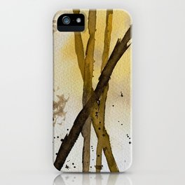 Backlit Forest iPhone Case