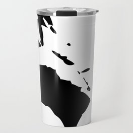 Homme en noir – risqué | 黑衣人 – 穢 Travel Mug