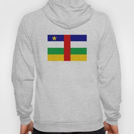Central African Republic country flag Hoody