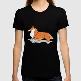Origami Collie doggie friends T-shirt