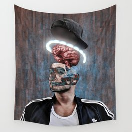 Open your mind Wall Tapestry