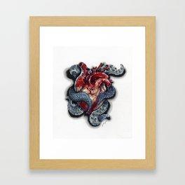 Cthulhu Heart Framed Art Print